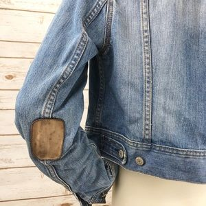 Old Navy Jackets & Coats - 3/ $25 SALE! Old Navy Elbow Patch Denim Jacket M